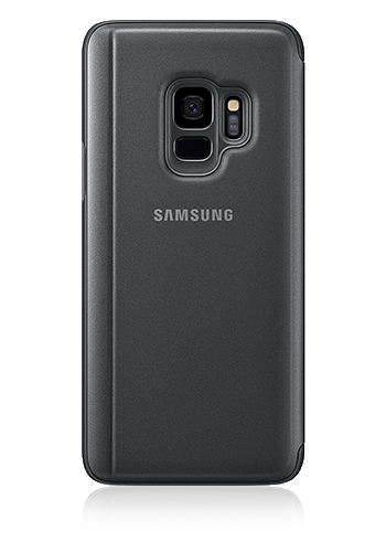 Samsung Clear View Standing Cover Book Style Black, für Samsung G960F Galaxy S9, EF-ZG960CB, Blister